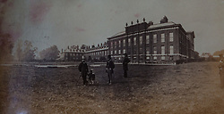 Kensington Palace photographed in 1870 in a book of old photographs to be auctioned at Bonhams. Bonhams, Knightsbridge, London, November 23 2018.