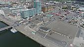 Dublin Port and Docklands Aerial Stills May 2020