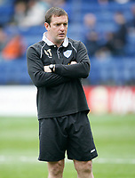 Photo: Steve Bond.<br /> Leicester City v Barnsley. Coca Cola Championship. 27/10/2007.Gerry Taggert in temporary charge