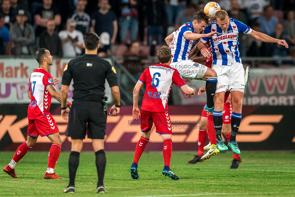 12-05-2018 NED: FC Utrecht - Heerenveen, Utrecht<br /> FC Utrecht win second match play off with 2-1 against Heerenveen and goes to the final play off / Henk Veerman #20 of SC Heerenveen,