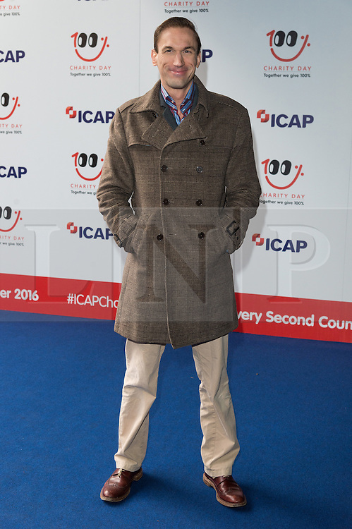 © Licensed to London News Pictures. 07/12/2016. DR CHRISTIAN JESSEN arrives to attend ICAP Annual Charity Day where the companies revenue and commissions for that day are given to select charities. London, UK. Photo credit: Ray Tang/LNP