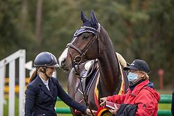 Thijs Laurinne, BEL, Kizzy - Jane<br /> CNC Minderhout 2020<br /> © Hippo Foto - Dirk Caremans<br /> 25/10/2020