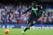 Mame Biram Diouf of Stoke City in action. Barclays Premier league match, Chelsea v Stoke city at Stamford Bridge in London on Saturday 5th March 2016.<br /> pic by John Patrick Fletcher, Andrew Orchard sports photography.