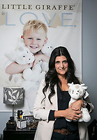 Trish Moreno, CEO of Little Giraffe at her business in Van Nuys, CA. December 2, 2013 Photo by David Sprague
