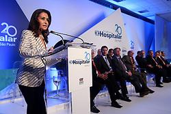 Dra. Waleska Santos presidente da Hospitalar, durante abertura oficial da HOSPITALAR 2013 - 20ª Feira Internacional de Produtos, Equipamentos, Serviços e Tecnologia para Hospitais, Laboratórios, Clínicas e Consultórios, que acontece de 21 a 24 de maio de 2013, no Expo Center Norte, em São Paulo. FOTO: Jefferson Bernardes/Preview.com