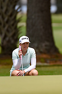 Stephanie Meadow (NIR) looks over her long birdie putt on 1 during round 2 of the 2019 US Women's Open, Charleston Country Club, Charleston, South Carolina,  USA. 5/31/2019.<br /> Picture: Golffile | Ken Murray<br /> <br /> All photo usage must carry mandatory copyright credit (© Golffile | Ken Murray)