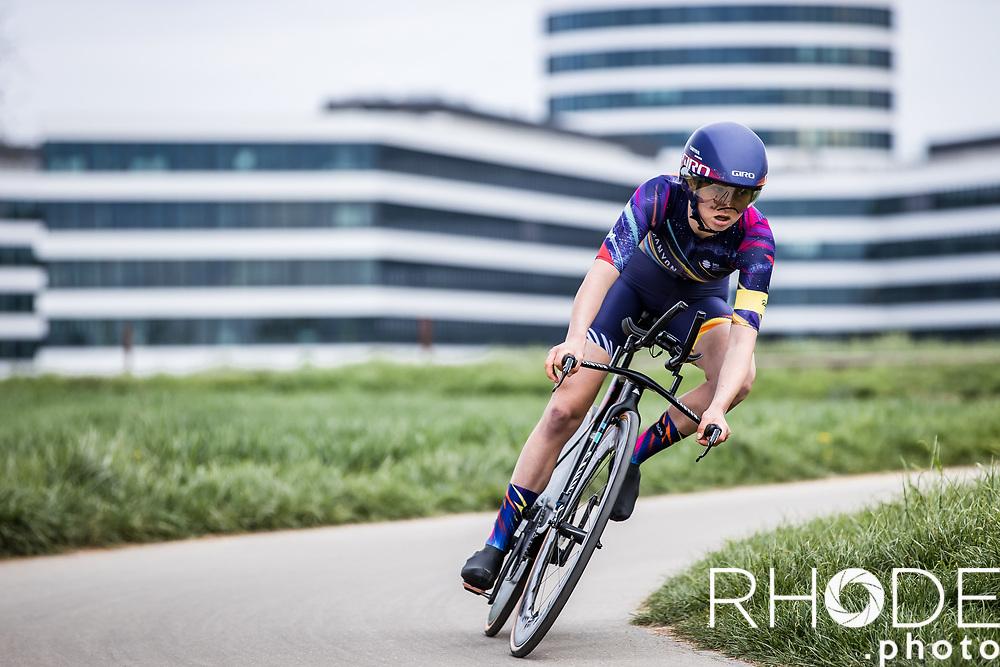 Mikayla Harvey (AUS/Canyon Sram Racing)<br /> <br /> Ceratizit Festival Elsy Jacobs (LUX) 2021<br /> UCI Women Elite 2.1<br /> Day 1 - prologue : Individual Time Trial (ITT) – Cessange (LUX) 2.2km <br /> <br /> ©RhodePhoto