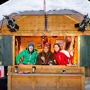 DUI/Hinterzarten/20130212 - Opname Vliegende Hollanders 2013 - Sterren van de Schans, jury, Marc Nolke, Patty Brard en Peter van Hal