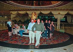 Van Loo Kris, Somers Lucien<br /> World Cup Final Jumping - Las Vegas 2000<br /> © Hippo Foto - Dirk Caremans