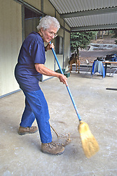 Ione Rice Sweeping