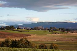 View towards Woolmers Esate, Longford, Tasmania.