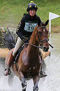 Irmani D09 ridden by Helen Witchell in the Equi-Trek CCI-L4* Cross Country during the Bramham International Horse Trials 2019 at Bramham Park, Bramham, United Kingdom on 8 June 2019.