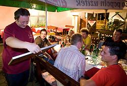 Editor of Siol Sportal Janez Voler at Sportal's 5 years party, on June 12, 2009, in Gostilna Kersic, Ljubljana, Slovenia. (Photo by Vid Ponikvar / Sportida)