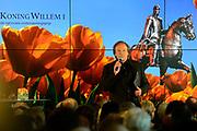 Uitreiking Koning Willem I prijs. De prijs, in de vorm van een beeldje, werd in de Nederlandse bank - Amsterdam uitgereikt door koningin Máxima, erevoorzitter van de stichting. <br /> <br /> King Willem I Award ceremony. The price in the form of a statuette, was in the Dutch banking - Amsterdam awarded by Queen Máxima, Honorary President of the Foundation.<br /> <br /> Op de foto / On the photo:  Ivo Niehe