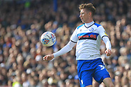 Joe Bunney during the EFL Sky Bet League 1 match between Portsmouth and Rochdale at Fratton Park, Portsmouth, England on 13 April 2019.