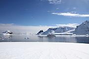 Danco Island or Isla Dedo is an island off Antarctica, 1 nautical mile (2 km) long lying in the southern part of Errera Channel,