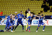 Joie Bastia  - 04.02.2015 - Monaco / Bastia - 1/2Finale Coupe de la Ligue<br />Photo : Sebastien Nogier / Icon Sport