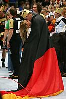 Håndball<br /> VM Tyskland<br /> 04.02.07<br /> Finale <br /> Tyskland - Polen<br /> Tyskland Verdensmester<br /> <br /> Pascal Hens mit Freundin Angela Schleipfer<br /> DIGITALSPORT / NORWAY ONLY