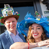 REPRO FREE<br /> James Murphy, Kanturk and Clare Bohane, Pouladuff Road pictured at the 43nd Kinsale Gourmet Festival Mad Hatters Taste of Kinsale.<br /> Picture. John Allen