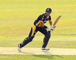 Glamorgan's Jacques Ruldolph on his way to top scoring for Glamorgan - Photo mandatory by-line: Robbie Stephenson/JMP - Mobile: 07966 386802 - 03/07/2015 - SPORT - Cricket - Southampton - The Ageas Bowl - Hampshire v Glamorgan - Natwest T20 Blast