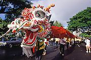 World longest Chinese dragon, Honolulu, Oahu, Hawaii