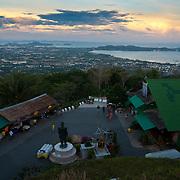 Phuket Panorama From Big Buddah Construction Site, Thailand