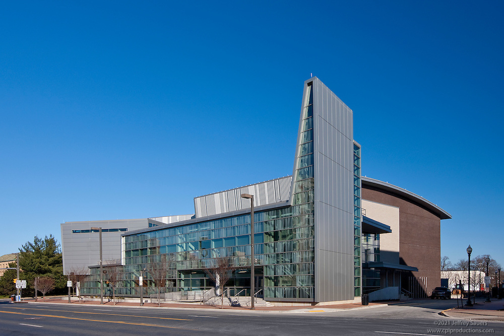Exterior Image of Performing Arts Center at Montgomery College, Bethesda, MD