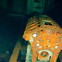 Engine block, USS Kittiwake