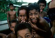 Fijian boys, Kadavu, Fiji
