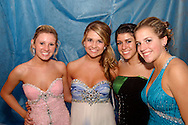 (from left) Juniors Nicole Stalcup, Breann Powell, Rachel Jackson and Brooke Salley during the Springboro High School prom at Springboro High School, Saturday, April 30, 2011.