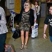 GER/Frankfurt/20110914 - Fergie, singer of the Black Eyed Peas o the airport of Frankfurt in Germany