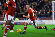 Mike-Steven Bahre of Barnsley (21) in action during the EFL Sky Bet League 1 match between Barnsley and Bradford City at Oakwell, Barnsley, England on 12 January 2019.