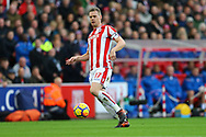 Ryan Shawcross of Stoke City in action. Premier league match, Stoke City v Leicester City at the Bet365 Stadium in Stoke on Trent, Staffs on Saturday 4th November 2017.<br /> pic by Chris Stading, Andrew Orchard sports photography.