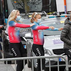 14-04-2021: Wielrennen: Brabantse Pijl women: Overijse: Emilie Moberg; Marjolijn van het Geloof