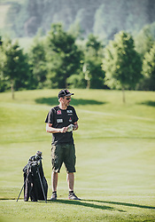 06.06.2019, Golfclub Zillertal, Uderns, AUT, Skijumpers Golf Trophy, im Bild Alexander Stoeckl (NOR) // during the Skijumpers Golf Trophy at the Golfclub Zillertal, Uderns, Austria on 2019/06/06. EXPA Pictures © 2019, PhotoCredit: EXPA/Stefanie Oberhauser
