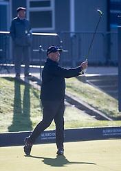 Sir Ian Botham. Alfred Dunhill Links Championship this morning at St Andrews.