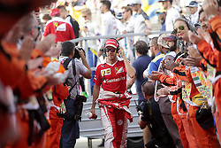 Sebastian Vettel beim Rennen des Grand Prix von Abu Dhabi auf dem Yas Marina Circuit / 271116<br /> <br /> ***Abu Dhabi Formula One Grand Prix on November 27th, 2016 in Abu Dhabi, United Arab Emirates - Racing Day ***