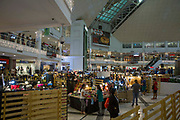 Inside  Glorietta Mall in Ayala Center, Makati, Metro Manila, Philippines.