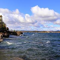 """""""Scenic Presque Isle""""<br /> <br /> Beautiful lake scene on Lake Superior on Presque Isle in Marquette Michigan!"""