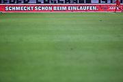 """Fussball: 2. Bundesliga, FC St. Pauli - VFL Bochum, Hamburg, 28.01.2021<br /> Bandenwerbung, Werbung, Spielfeld, Astra, """"Schmeckt schon beim Einlaufen""""<br /> © Torsten Helmke"""