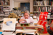 Sir Paul Smith fashion designer photographed in his office in London, Britain.<br /> Foto Alex MacNaughton