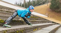 01.01.2016, Olympiaschanze, Garmisch Partenkirchen, GER, FIS Weltcup Ski Sprung, Vierschanzentournee, Probedurchgang, im Bild Stefan Kraft (AUT) // Stefan Kraft of Austria during his Trial Jump for the Four Hills Tournament of FIS Ski Jumping World Cup at the Olympiaschanze, Garmisch Partenkirchen, Germany on 2016/01/01. EXPA Pictures © 2016, PhotoCredit: EXPA/ JFK