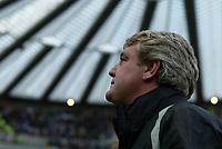 Photo: Andrew Unwin.<br />Newcastle Utd v Birmingham City. The Barclays Premiership. 05/11/2005.<br />Birmingham's under-pressure manager, Steve Bruce.