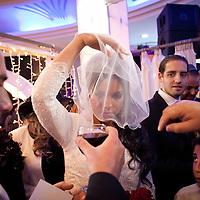 Rahel Berdugo during her wedding ceremony in Jerusalem.