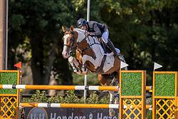 Hemeryck Rik, BEL, Ulyss Morinda<br /> Belgisch Kampioenschap Jumping  <br /> Lanaken 2020<br /> © Hippo Foto - Dirk Caremans<br /> 02/09/2020