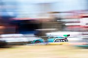 March 20, 2021. IMSA Weathertech Mobil 1 12 hours of Sebring: #16 Wright Motorsports, Porsche 911 GT3R, Trent Hindman, Patrick Long, Jan Heylen
