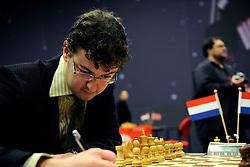 18-01-2009 SCHAKEN: CORUS CHESS: WIJK AAN ZEE<br /> Erwin l Ami<br /> ©2009-WWW.FOTOHOOGENDOORN.NL