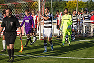 during the Pre-Season Friendly match between Shortwood United and Forest Green Rovers at Meadowbank Ground, Nailsworth, United Kingdom on 14 July 2017. Photo by Shane Healey.
