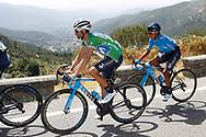 Alejandro Valverde (ESP - Movistar) green jersey, Nairo Quintana (COL - Movistar) , during the UCI World Tour, Tour of Spain (Vuelta) 2018, Stage 9, Talavera de la Reina - La Covatilla 200,8 km in Spain, on September 3rd, 2018 - Photo Luis Angel Gomez / BettiniPhoto / ProSportsImages / DPPI