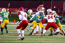 11 October 2019: Glenwood Titans at University High Pioneers boys football, Normal Illinois